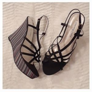 Charming Charlie Strappy Wedges